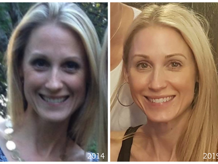 My 4 and a Half Year Picture: Aging in Reverse