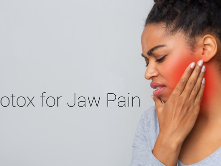 Ditch the Football Gear in Your Mouth...Help TMJ with Botox