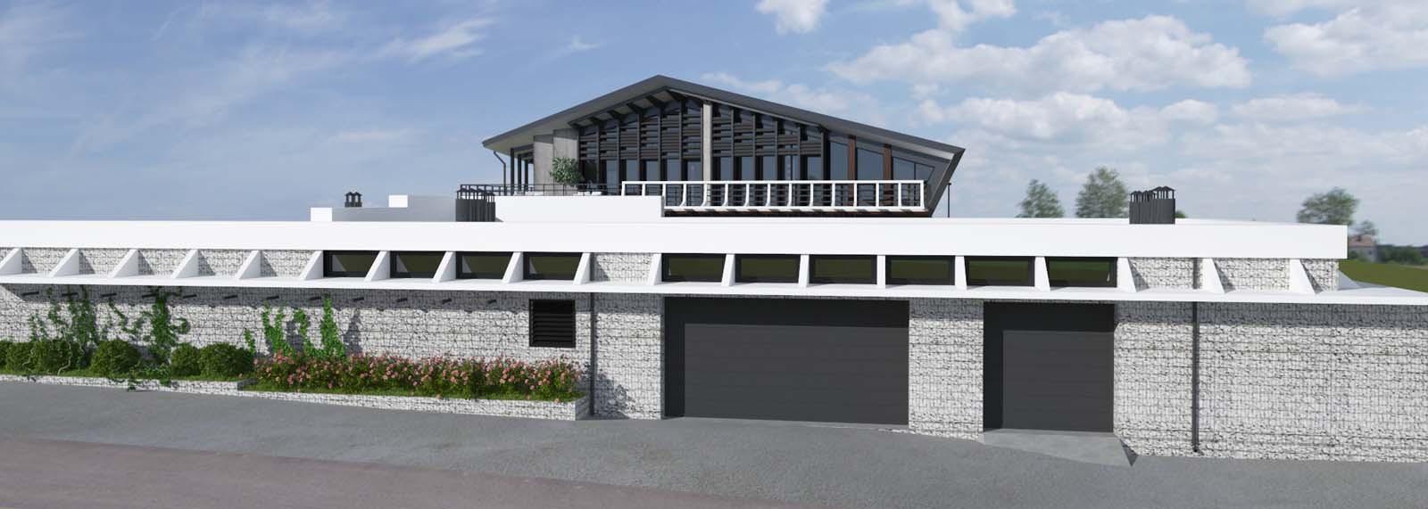 Проект частного дома SHIFT