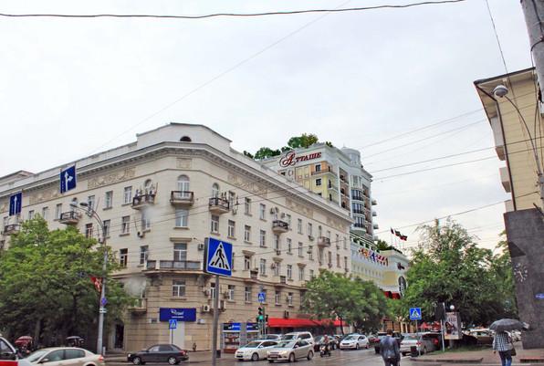 Проект второй очереди гостиничного комплекса «Атташе»