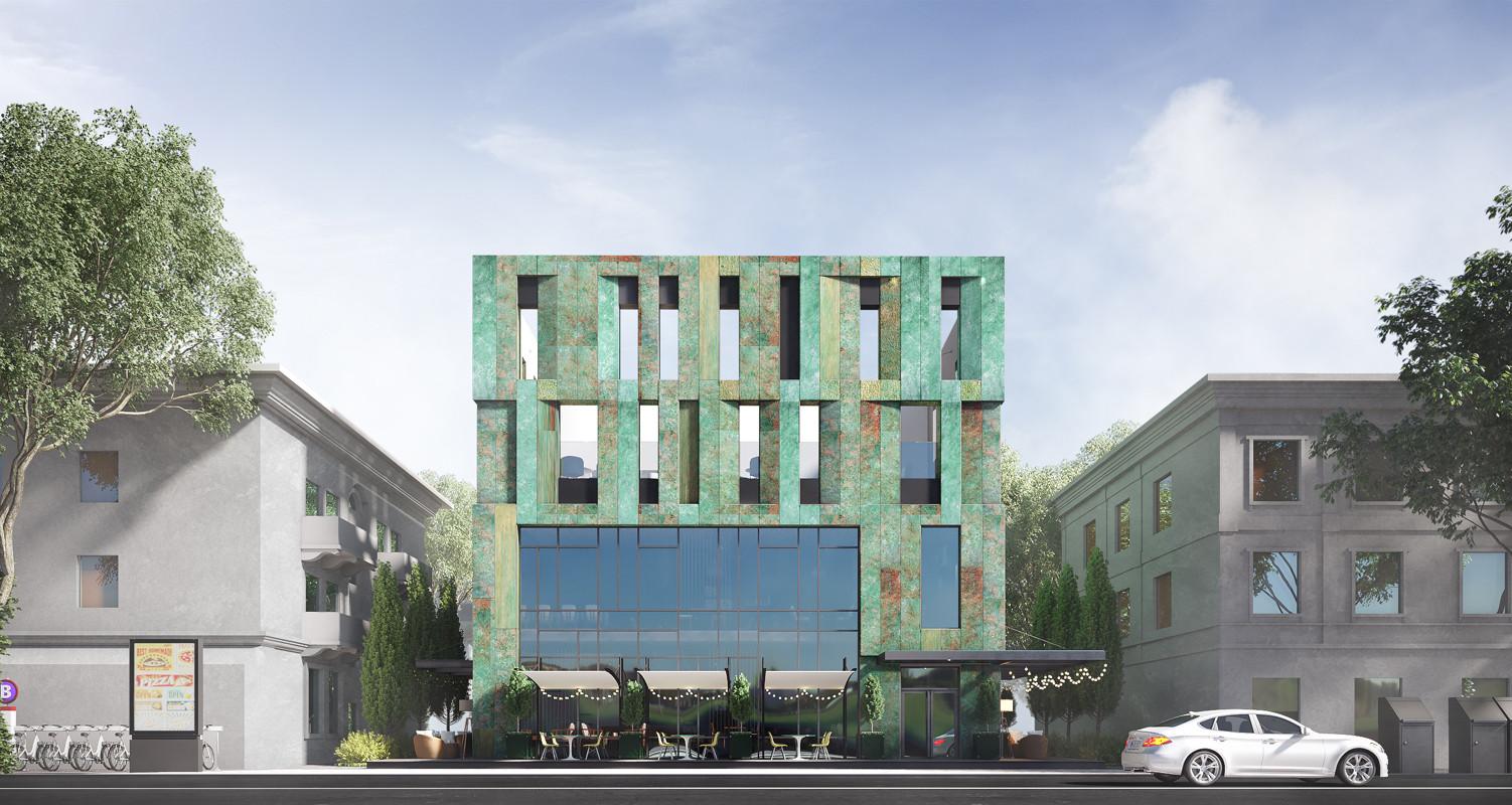 Торгово-офисное здание в г. Туапсе