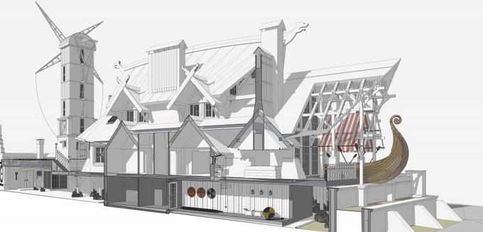 Проект частного дома ARK