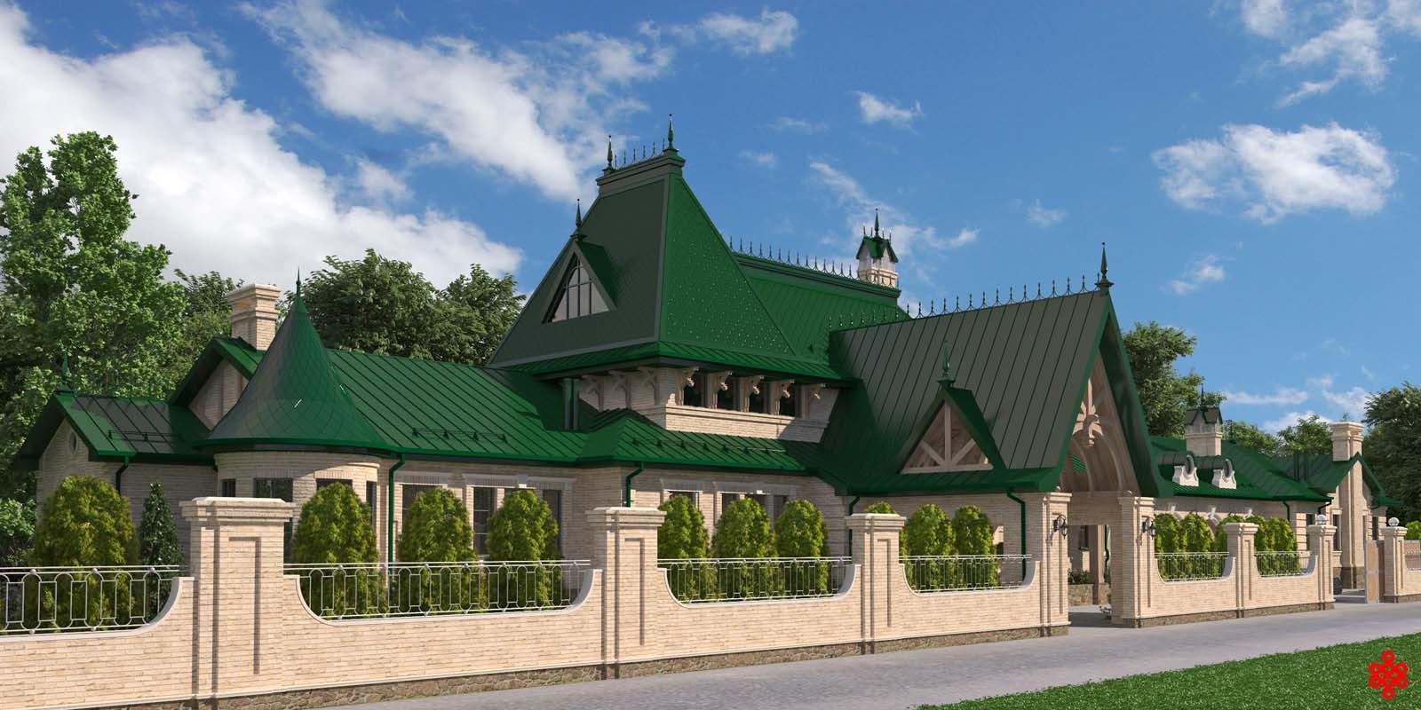Проект частного дома TEREM