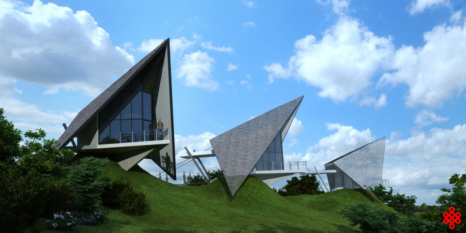 Проект загородной базы отдыха «Соловьи»