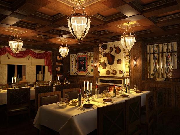Дизайн-проект интерьеров ресторана «Казачья кухня»