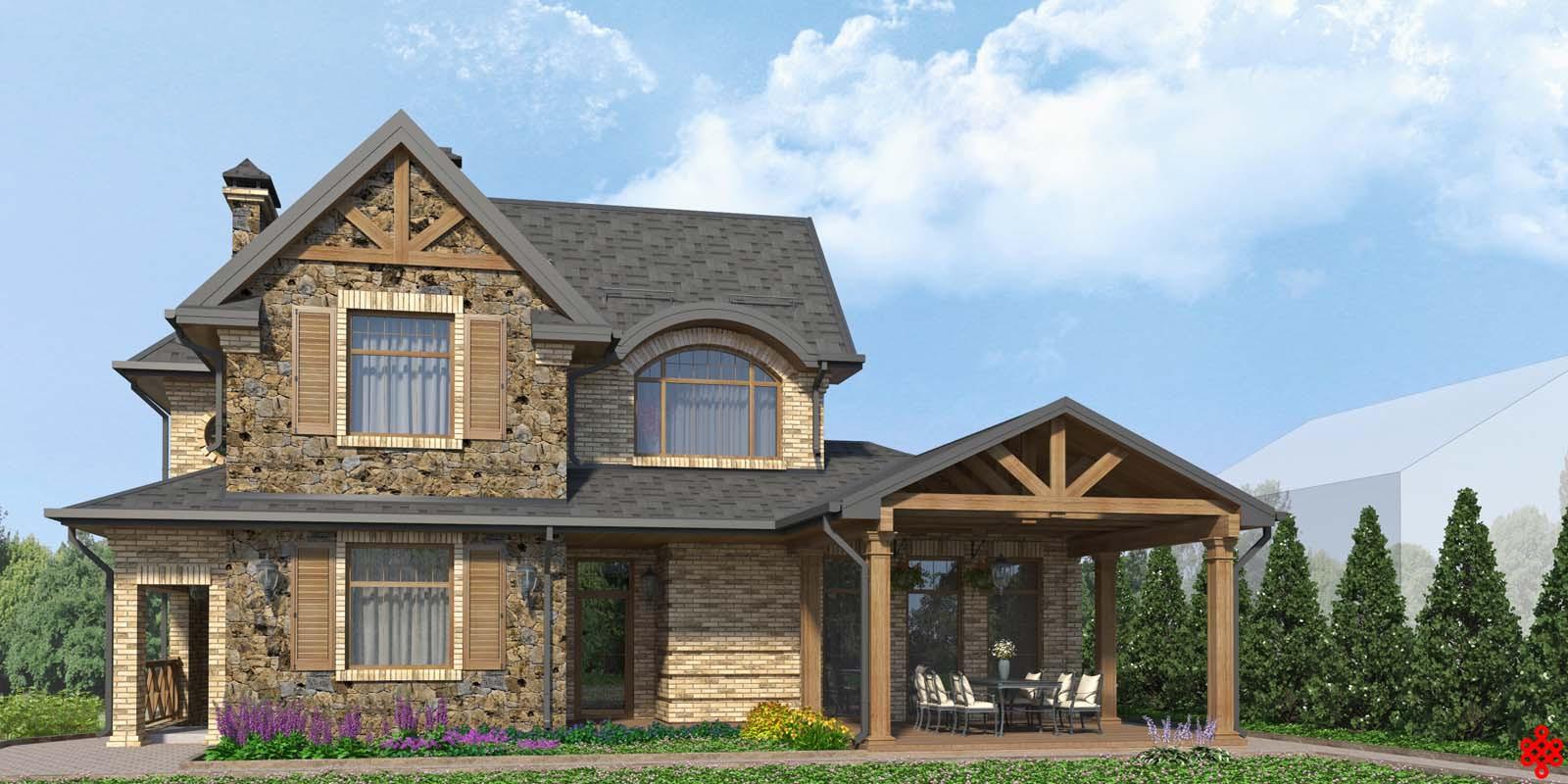 Проект частного дома Origin