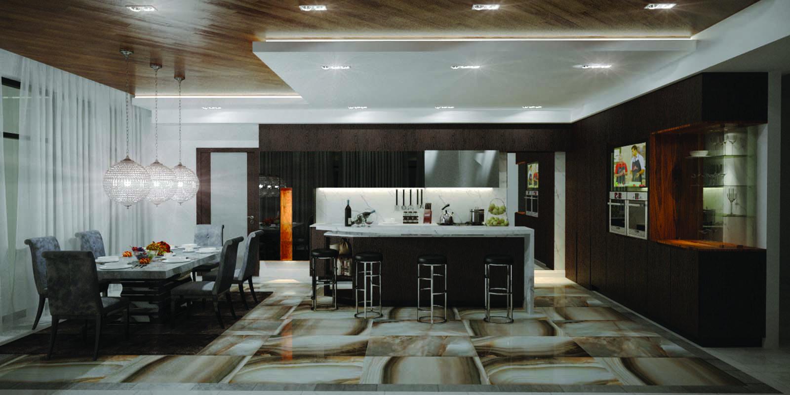 Дизайн-проект частного дома Ice Cube