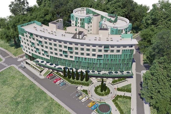 жилой комплекс Александровский парк в г. Шахты