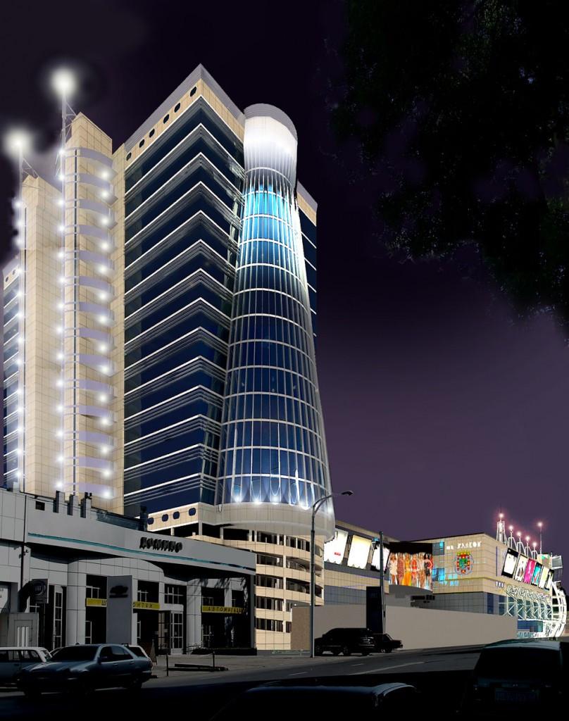 Проект торгового центра ГАЛЕОН