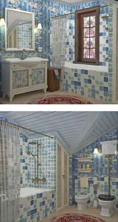 дизайн-проект частного дома в стиле прованс