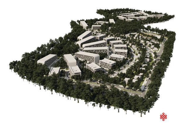 проект коттеджного поселка В ГОРОДЕ БАТАЙСКЕ АБ НОВАЯ РАСА