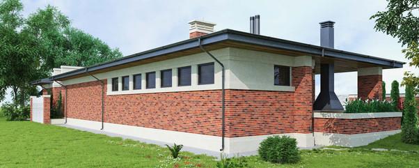 проект частного дома Flying Frank