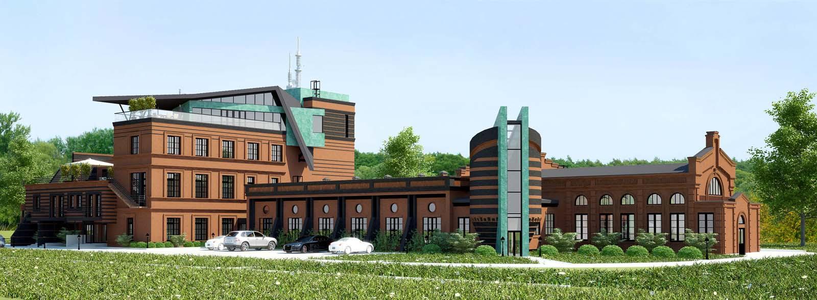 проект реновации заброшенной фабрики под частный жилой комплекс в городе Миллерово