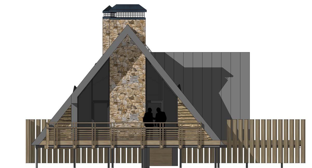 Проект охотничьего дома Forest House