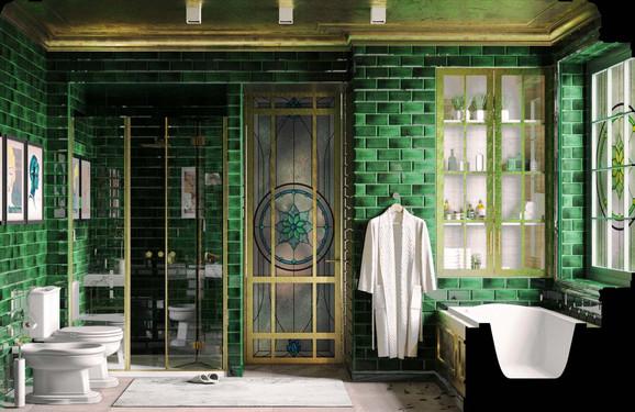 Дизайн-проект первой очереди гостиницы Albion
