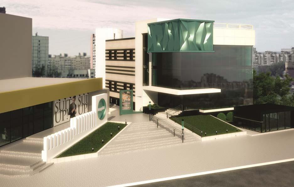 Проект коммерческого центра Cuprum