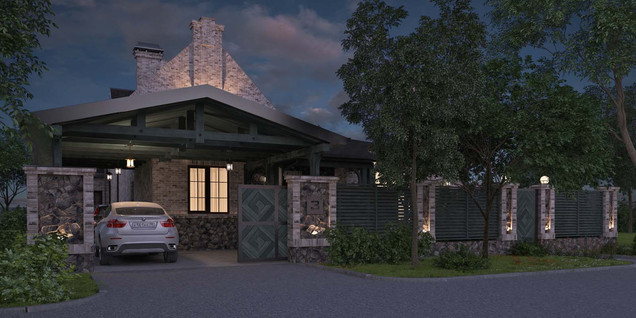 проект частного дома SUNYARD