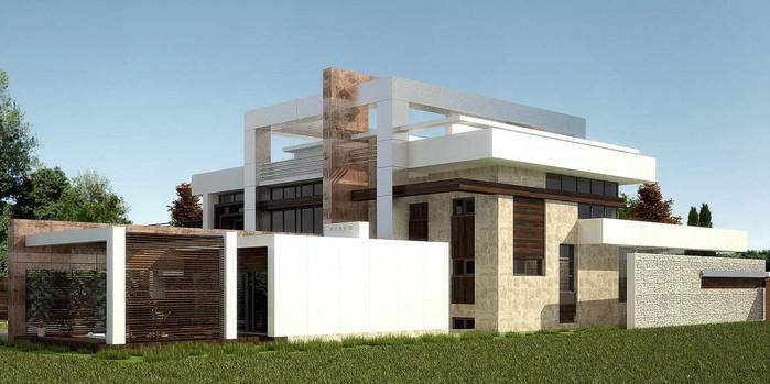 проект частного дома re fresh