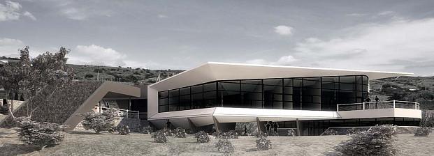 Проект частного дома wing