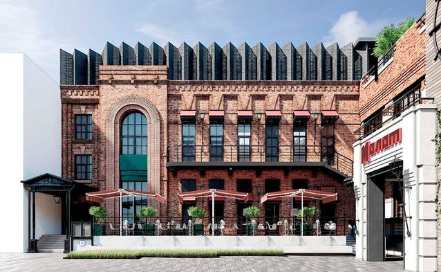 Реновация зданий издательства «Молот» под многофункциональный комплекс общественного назначения