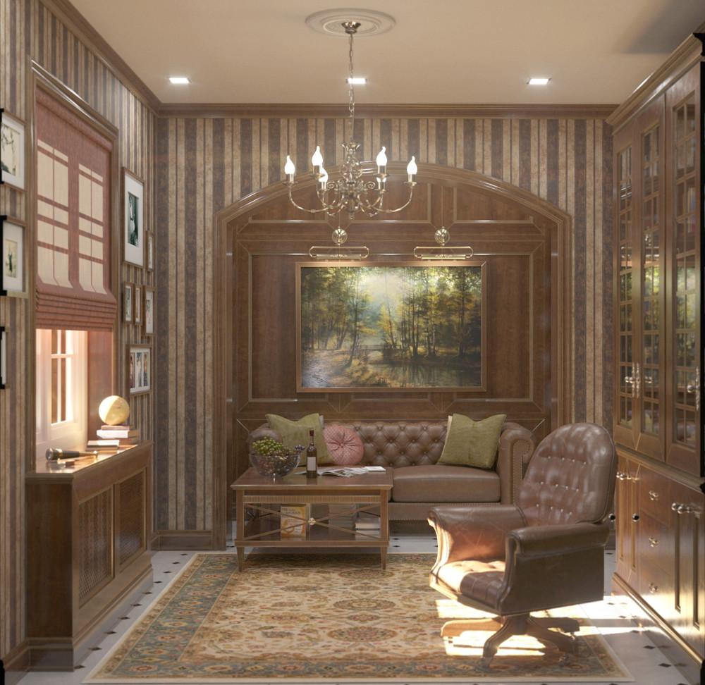 дизайн-проект частного дома CALIFORNIA DREAMS