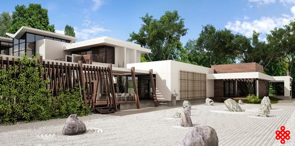 Проект частного дома Сold Spring