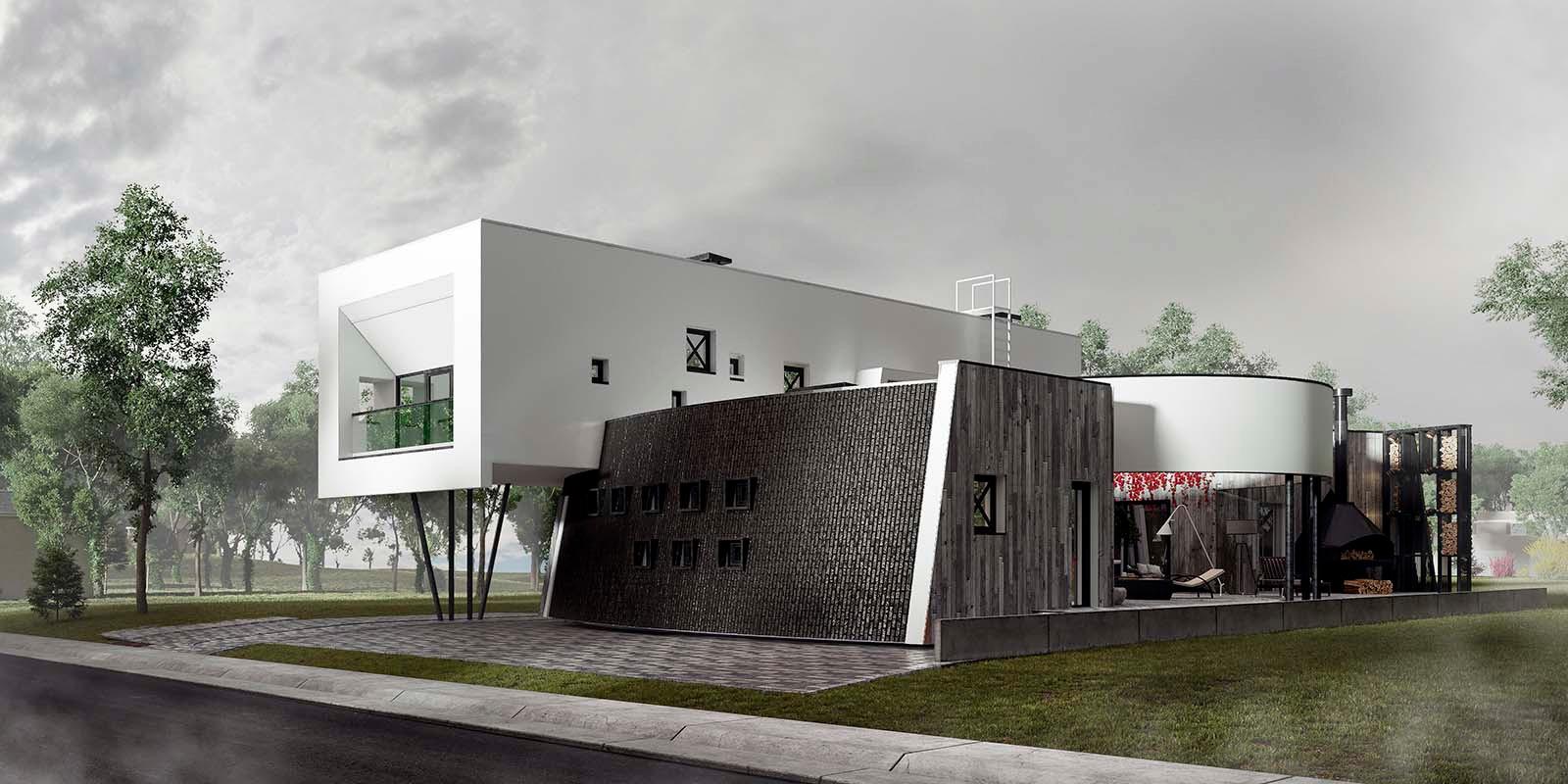 проект дома TATOOINE