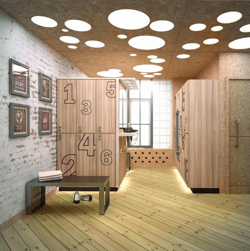 Дизайн-проект Rocky boxing club