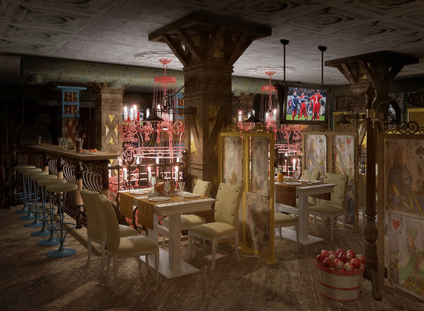 Дизайн-концепция ресторана ГЕНАЦВАЛЕ
