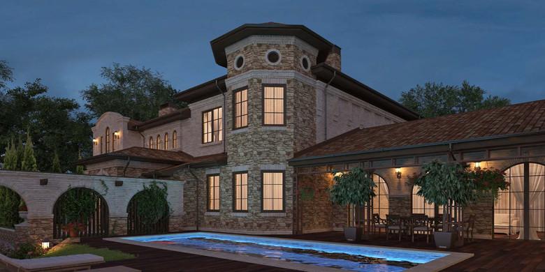 проект частного дома En el Sur