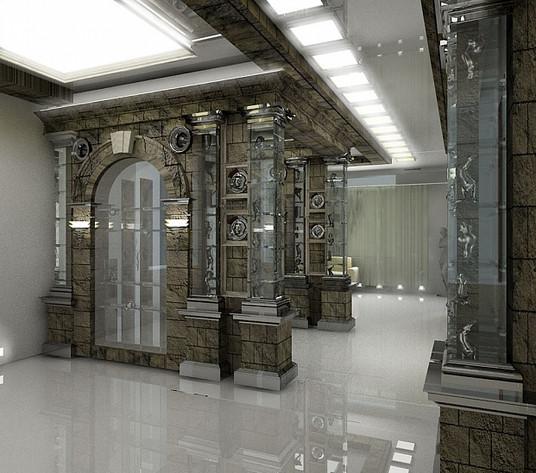 Дизайн-проект интерьера салона штор