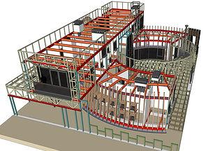 проектирование частных домов и общественных зданий из металлокаркаса в Ростове-на-Дону Новая РАСА