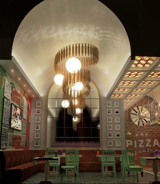 Проект пиццерии Campania