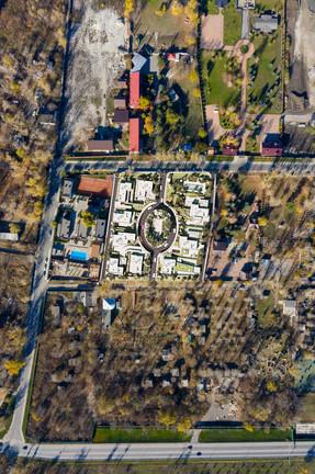 коттеджный поселок на левом берегу Дона