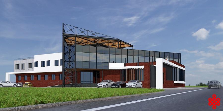 Проект офиса частной компании