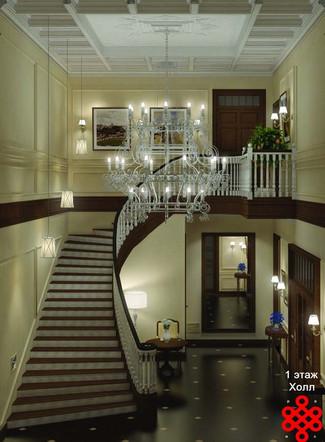 Дизайн-проект интерьеров дома Mrs. Valentina