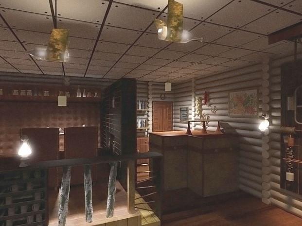 Дизайн-проект ресторана «Икра»