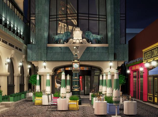 Проект первой очереди гостиницы Albion
