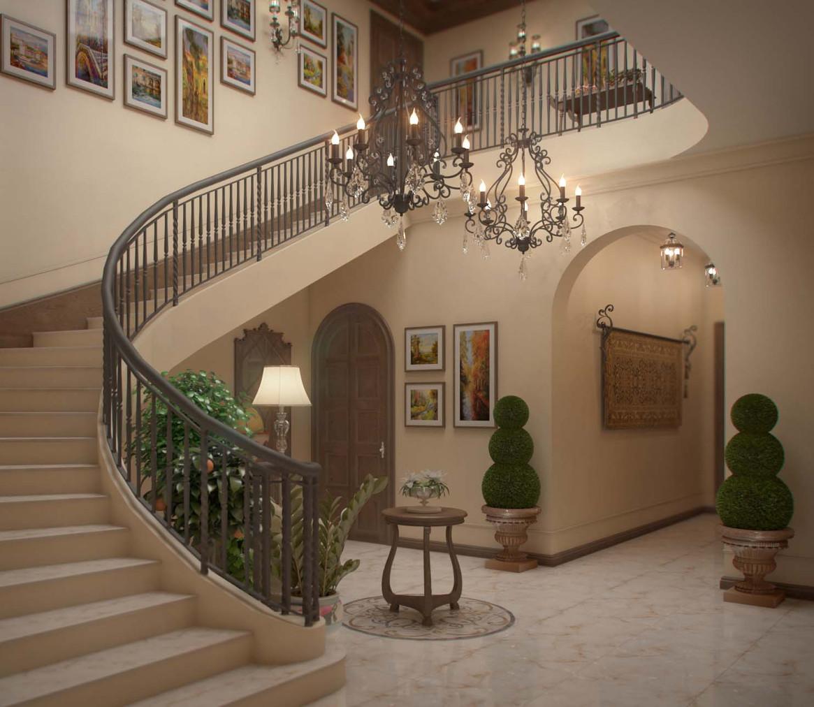 Дизайн-проект частного дома En el Sur в г. Ростове-на-Дону