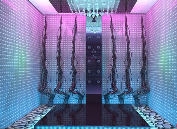 Дизайн-проект SPA частного отеля «Глория»