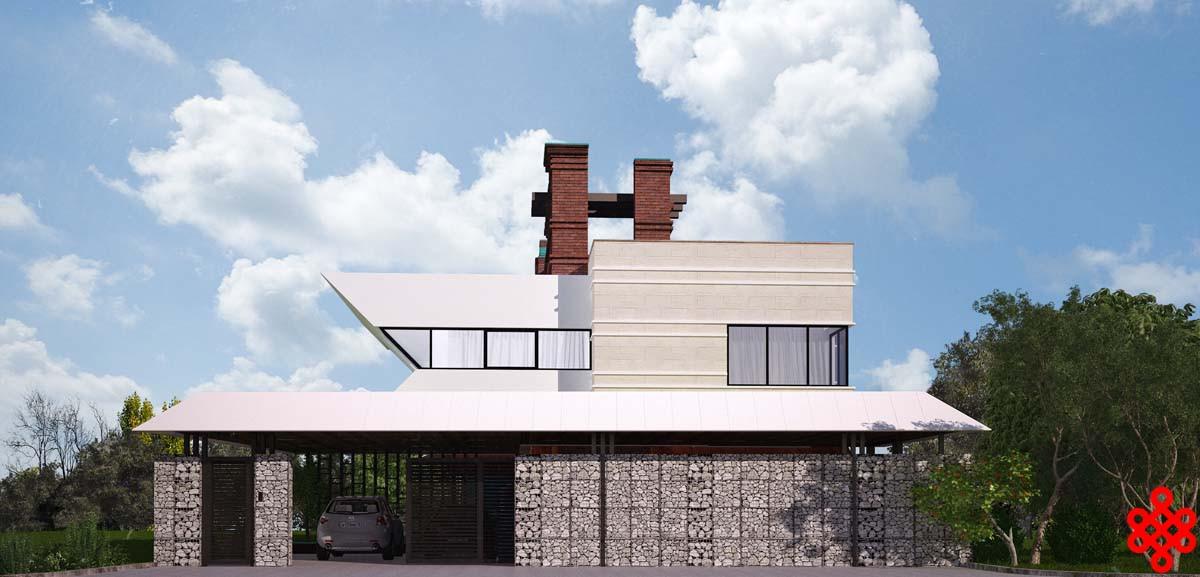 проект частного дома KITE