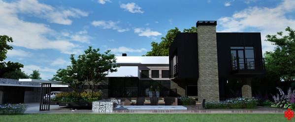 Проект частного дома La Gabion