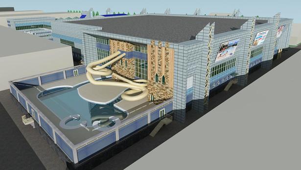 Проект аквапарка в ТЦ горизонт