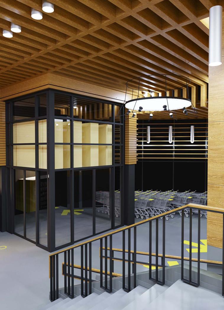 д.jpgДизайн-проект интерьеров торгово-офисного центра «Лимон»