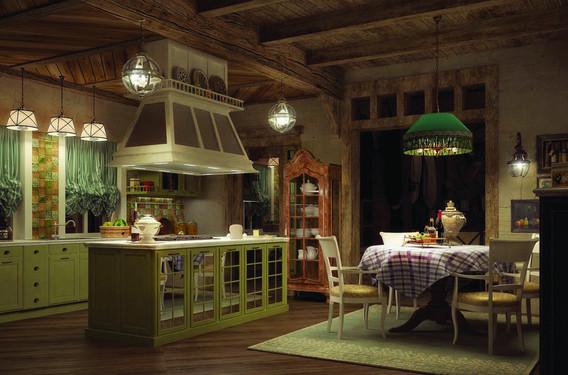Дизайн-проект интерьеров дома «Re: шале»