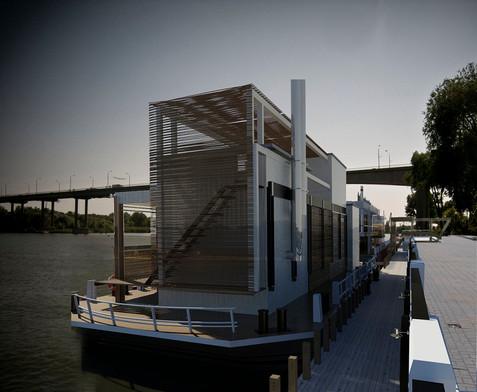 Концептуальный проект Дебаркадеры на набережной