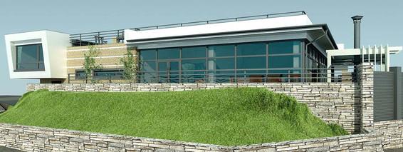 Проект частного дома Yaсht-house Sun-&-Breeze