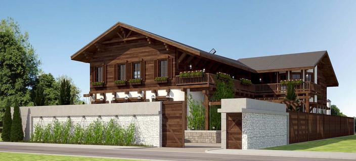 Проект частного дома RE: шале
