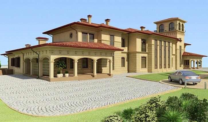 Проект частного дома Villa Marina
