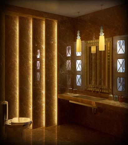 дизайн-проект частного дома в стиле ар-деко